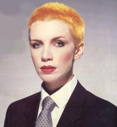 Annie. The most inspiring, short-haired female singer a fellow short-haired female singer could have.