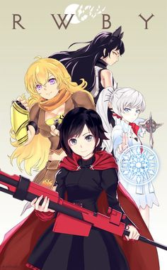Rwby should be recommended by anyone, it is classy, cheesy all at the same time how can you not fall in love with it❤️❤️: