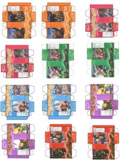 Mini Girl Scout Cookie Boxes Printable- don't know what to do with these, but they may come in handy sometime.