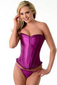 15.95  http://www.lingeriediva.com/sexy-lingerie-clearance-sale/purple-corset-with-purple-pleated-trim