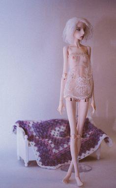 Crochet lace lingerie for BOXX Sadhana Bardo от AntejaBoutique