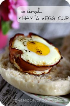 Aren't these ham and egg cups adorable?  My gang loved them and they were so simple to make. We are big breakfast for dinner people around here.  We don't usually have elaborate breakfast choices around here since I am a single mom. I work each morning, so breakfast is something simple like oatmeal.   You …
