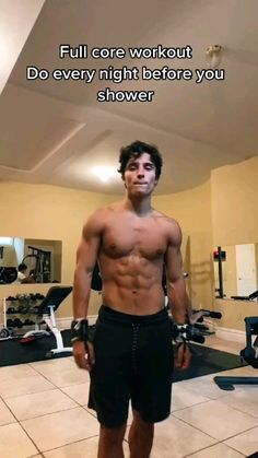 Abs And Cardio Workout, Gym Workout Videos, Abs Workout Routines, Gym Workout For Beginners, Fitness Workout For Women, Gym Workouts, Workout Men, Bodybuilding, Workout Programs