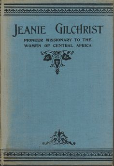 Jeanie Gilchrist [c.1860-1903] was a missionary to what is now the country of Zambia. This book begins with the story of the dramatic conversion of her father during the 1859 Revival and ends with her death in Africa in 1903. My thanks to Redcliffe College for providing me with a copy of the title to ... Read more...