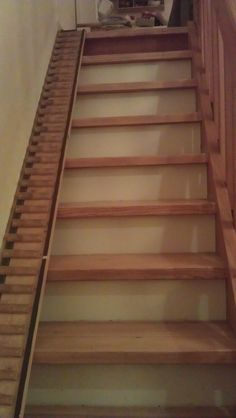 Homemade stairs for dachshunds - great idea!!