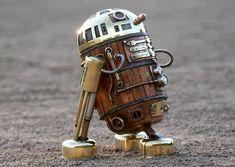 Steampunk R2-D2 by Amoebaboy