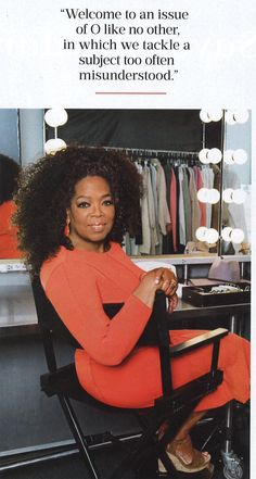 The amazing #OprahWinfrey wearing our beautiful Makena Earrings with Red Jasper set in 18k yellow gold with brown diamond pavé in the February 2016 Oprah Magazine| Mishnewyork.com #MishEarrings
