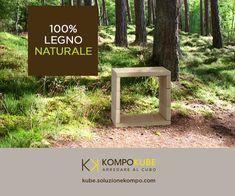 KOMPO - 100% legno naturale