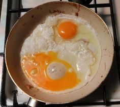 Yin and Yang of the Egg World Yin Yang, Eggs, Breakfast, Photos, Food, Morning Coffee, Pictures, Essen, Egg