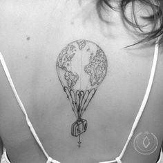 Tatuaggi mongolfiera