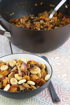 Warm up with a comforting bowl of Sweet Potato and Black Bean Chili. This simple dish will leave your family wanting more!