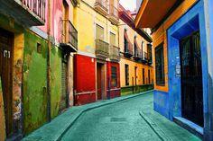 Granada, Spain via art.com