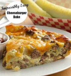 Bake the magic of a cheeseburger in pie form—it's impossibly easy!