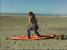 """Surfing Workout: Become a Stronger Surfer : How to Practice """"Pop Ups"""" for Surfing Exercise"""