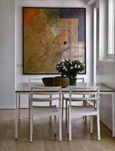Maddalena de Padova essence of design for Marie Claire Maison Italian Furniture, Dining Chairs, Indoor, Homes, Architecture, Painting, Design, Home Decor, Art