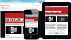 mobile email newsletter article