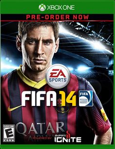 FIFA 14 - Xbox One by Electronic Arts - children makeup Football Video Games, Video Games Xbox, Xbox One Games, Xbox Games, Fifa 14 Ps4, Jeux Xbox One, Just Dance 3, Soccer Fifa, Play Soccer