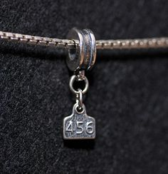 Ear Tag Charm for remembering your favorite animal ❤️