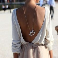 I need a backless shirt like this for the summer... love it