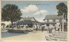 Hotel Glass 1916 Buckeye Lake, Lake Park, Amusement Park, Ohio, Mansions, House Styles, Glass, Columbus Ohio, Manor Houses