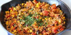 One Pan Mexican Quinoa - Green-Mom.com