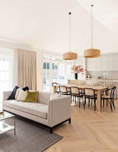 Contemporary Interior Design, Home Interior Design, Interior Architecture, Living Room Contemporary, Kitchen Contemporary, Living Room Decor, Living Spaces, Living Comedor, The Design Files