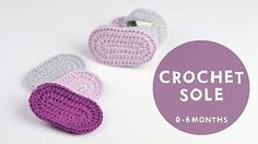 How To Crochet Cute and Easy Baby Booties   Croby Patterns - YouTube