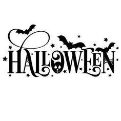 This is where you sign in to the greatest source of digital cut files, SVG files, fonts, and other content for use with your Silhouette CAMEO® or other cutting machine on the entire planet! Halloween Vinyl, Diy Halloween Party, Moldes Halloween, Halloween Words, Adornos Halloween, Fairy Halloween Costumes, Halloween Quotes, Halloween Signs, Halloween Projects