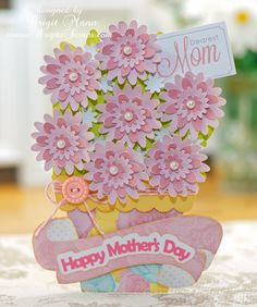"Brigit Mann's Mother's Day Card using Echo Park Paper's mini theme ""Dearest"""