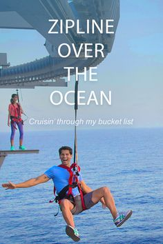 If you're looking for adventure, Ziplining is a must try. Sign up and stay in the know on cruise deals and the latest travel destinations.