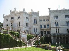 Province of Trieste, Italy: Front of castle