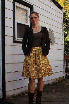 Sanity: Liesl + Co Everyday Skirt
