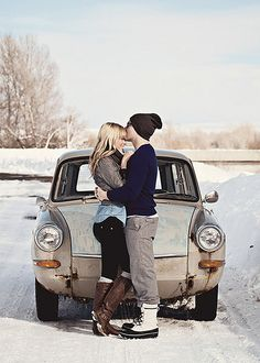 Forehead kisses are the best.