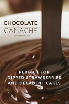 If you use these proportions your semi sweet ganache pipes beautifully and has texture of truffles, but must refrigerate for at least 1...