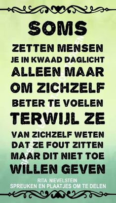 New Tutorial and Ideas Jokes Quotes, Me Quotes, Motivational Quotes, Dutch Phrases, Dutch Quotes, Special Quotes, True Words, Tutorial, Quotes To Live By
