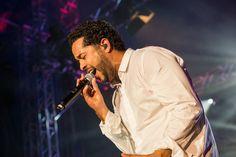 Der letzte Gig des Abends am Samstag: Adel Tawil. Foto: Mathias Adam