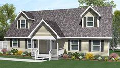 Kea by All American Homes Cape Cod Floorplan