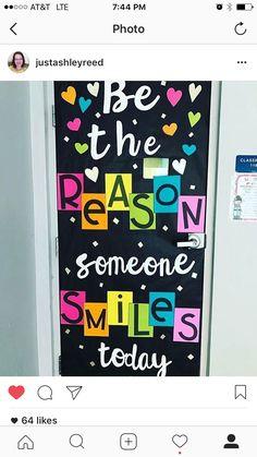 New Classroom Door Kindness Bulletin Boards Ideas Classroom Bulletin Boards, New Classroom, Classroom Design, Classroom Displays, Classroom Themes, Classroom Organization, Bulletin Board Ideas For Teachers, Kindergarten Classroom Door, Kindness Bulletin Board