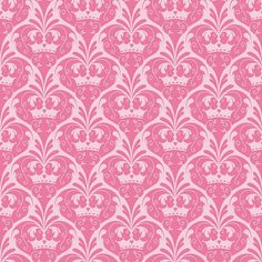 Dream and a Wish  Dream Damask Pink by Sandra by FabricWhimsyToo