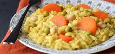 Baked Curry Risotto (One Pot, No Stir, Easy & Creamy!)