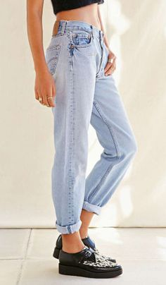 Vintage Renewal Levi's 501 Jeans at Urban Outfitters   Fashion ...