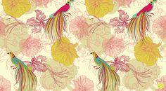 german pattern designer  Sabine Reinhart, True Love, Seamless Pattern