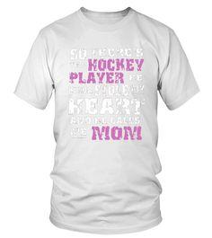 Hockey Mom T Shirt (Round neck T-Shirt Unisex - White) #popular #health #fitness hockey quotes, hockey humor, hockey memes, dried orange slices, yule decorations, scandinavian christmas Kings Hockey, Women's Hockey, Hockey Gifts, Hockey Players, Hockey Memes, Hockey Quotes, Quotes Girlfriend, Street Hockey, Yule Decorations