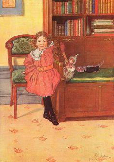 Шведский художник Карл Улоф Ларссон (1853-1919). Часть I: philologist