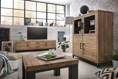 """""""Skandinavischer Industrial-Stil"""" - dies zeichnet unsere Serie Bestano aus. #Lowboard #Highboard #Couchtisch zur Serie: www.moebel-ideal.de/"""