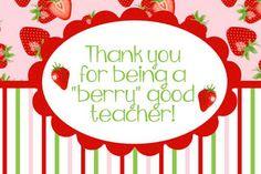FREE Teacher Appreciation Thank You Cards
