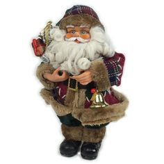 Traditional Standing Luxury Santa Christmas Decoration in Home, Furniture & DIY, Celebrations & Occasions, Christmas Decorations & Trees | eBay
