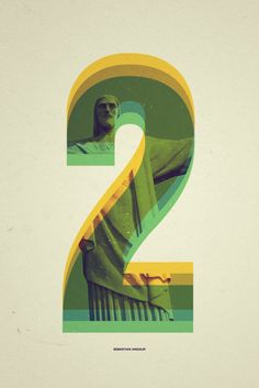 22/8 Rio Number Series by Andaur Studios, Astronaut Design - Everyday Project