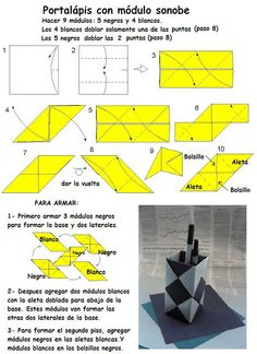 Origami box - Folhas de Arte: Caixas.  Lots of other great diagrams on this blog, too.