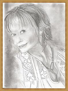 kreslení tužkou předloha z časopisu